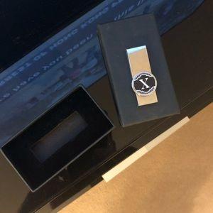 💜 Money clip slim fit X marks the spot design!!